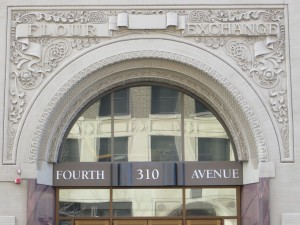 Brown Law offices are located in the historic Flour Exchange building.