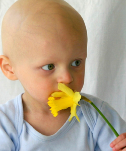 Image of child with delayed cancer diagnosis
